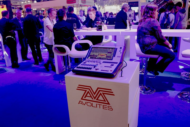 Avolites unveil brand new 'Quartz' compact console at PLASA