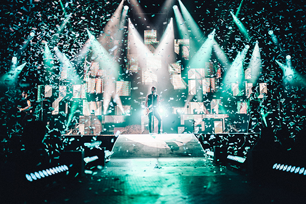 All Time Low's Arena Tour Gets the Sapphire Touch