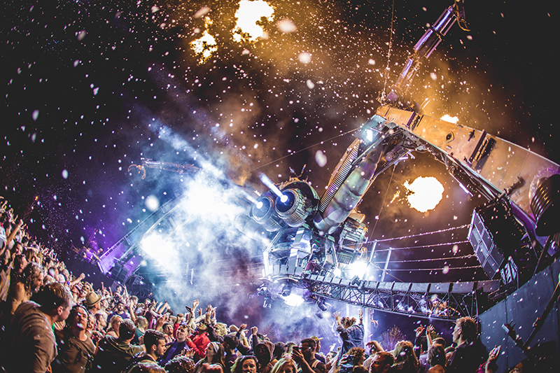 Avolites celebrates 10 years of Arcadia Spectacular at Queen Elizabeth Olympic Park