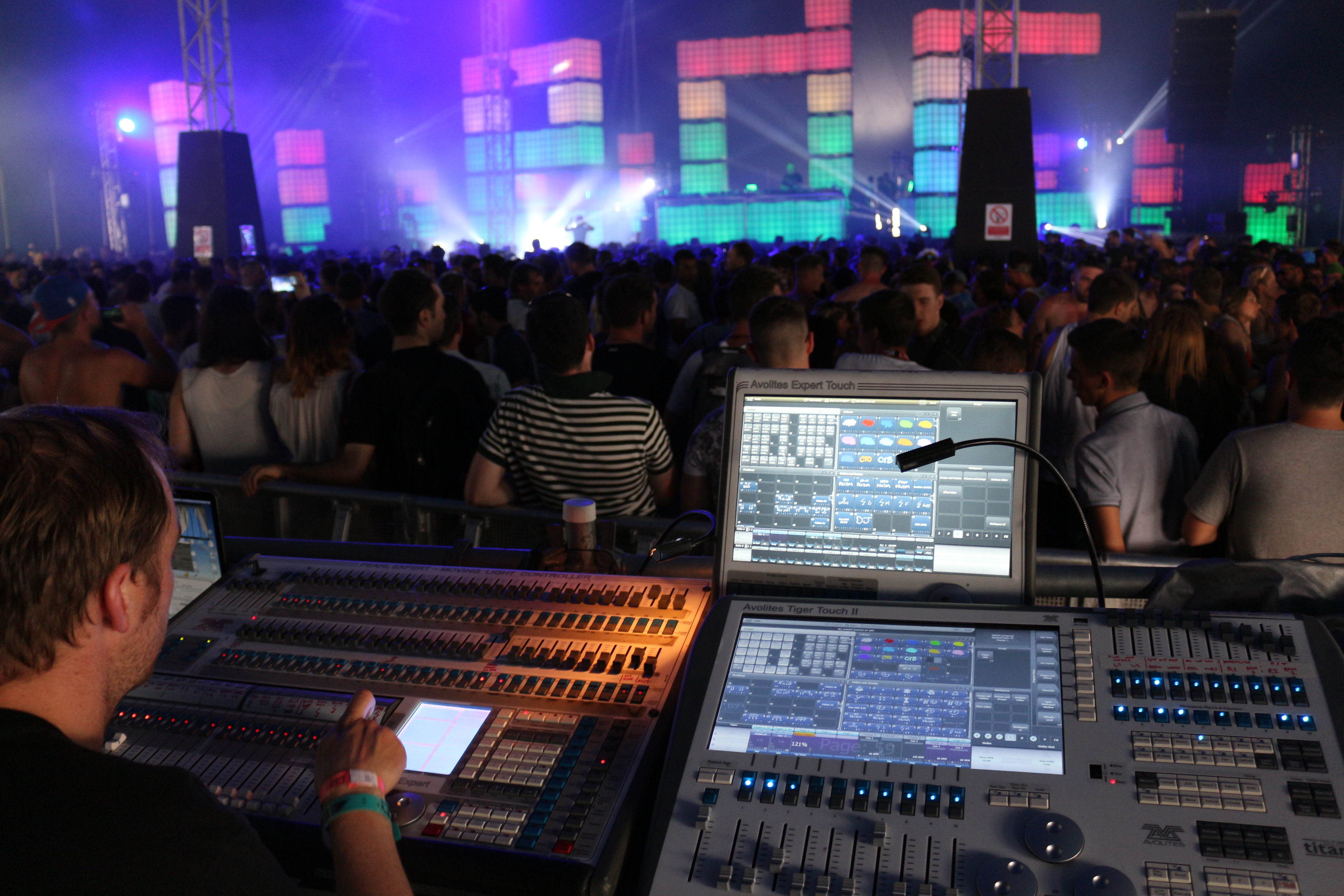 Avolites consoles a perfect match for Electric Daisy Carnival UK