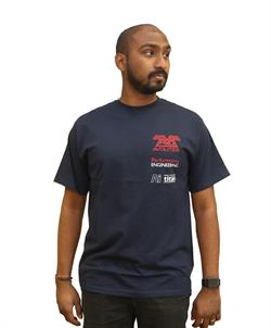 Men's Navy Print T-Shirt