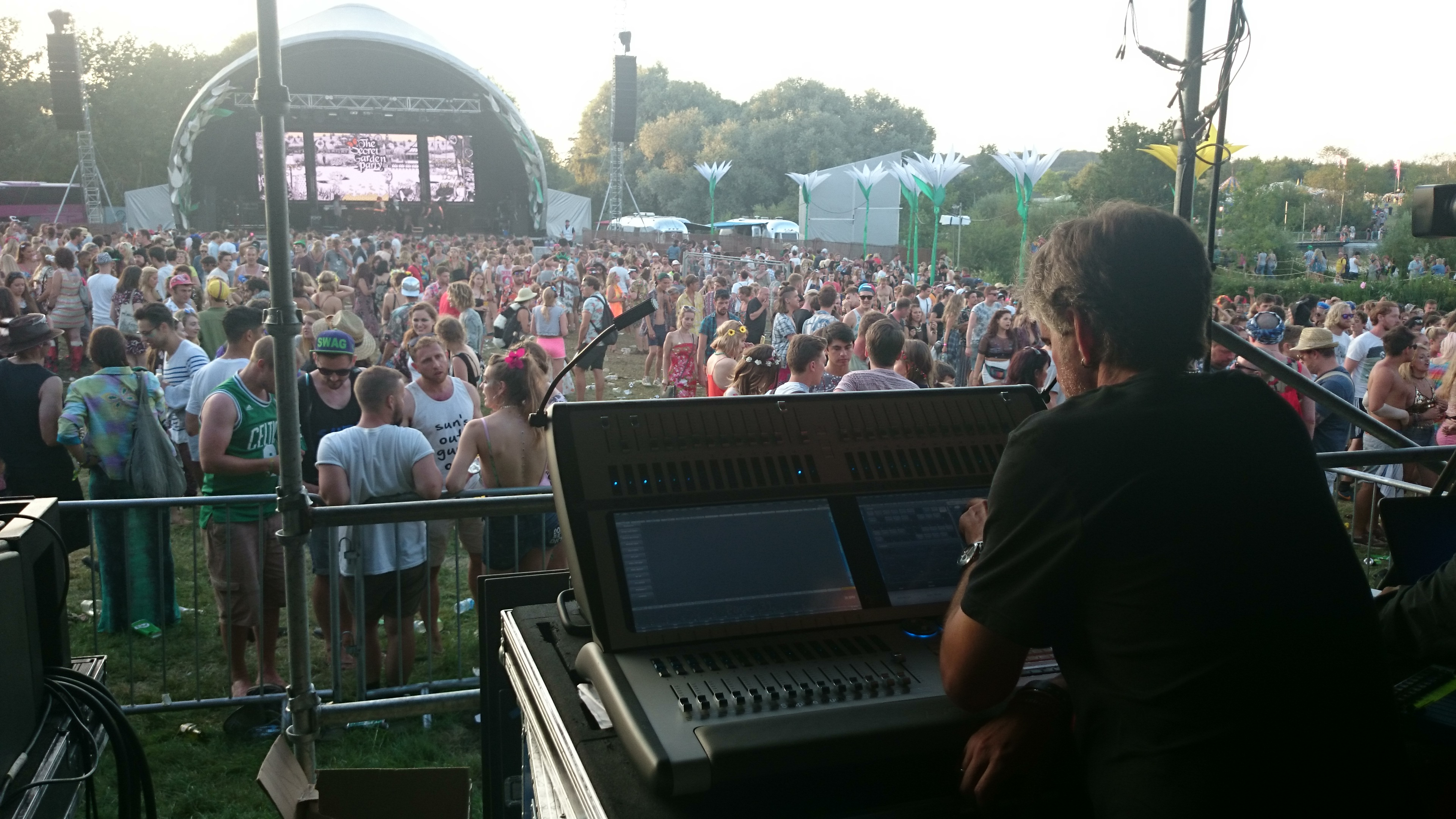 Avolites & Avolites Media deliver the magic at Secret Garden Party