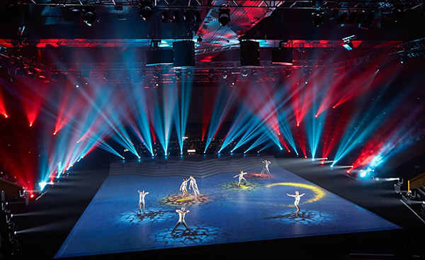 Avolites Ai R8 Servers Integrate NOTCH and BlackTrax for Large-Scale Projection and FX for Creative Generation