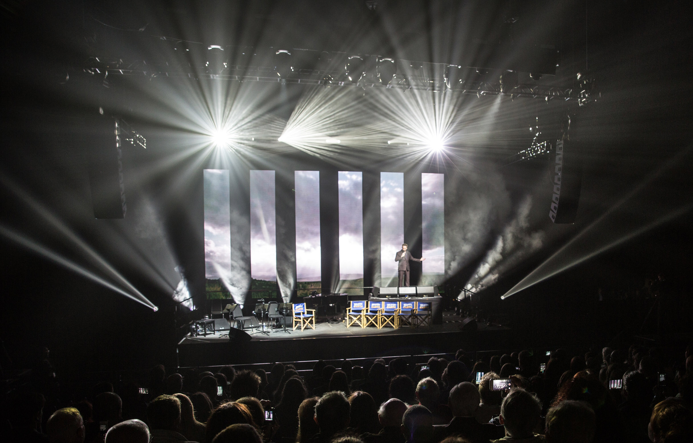 Avolites video and light integration system is 'Heaven on Earth' for new arena spectacular