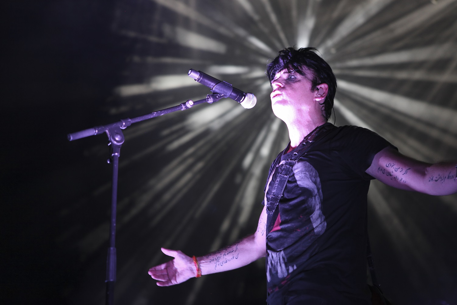 Avolites consoles and Fader Wing are a Titan solution for Gary Numan