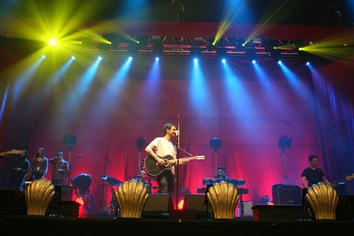 Avolites Pearl Expert Provides Powerful Control for Frank Turner at Wembley