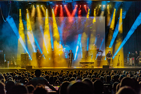 Marillion's 'Theatrical' UK Tour is Beam-Perfect with Avolites Titan