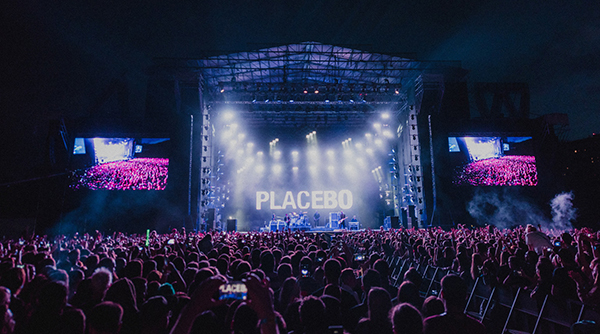 Placebo Rock Out at Festival Shows with Avolites Arena