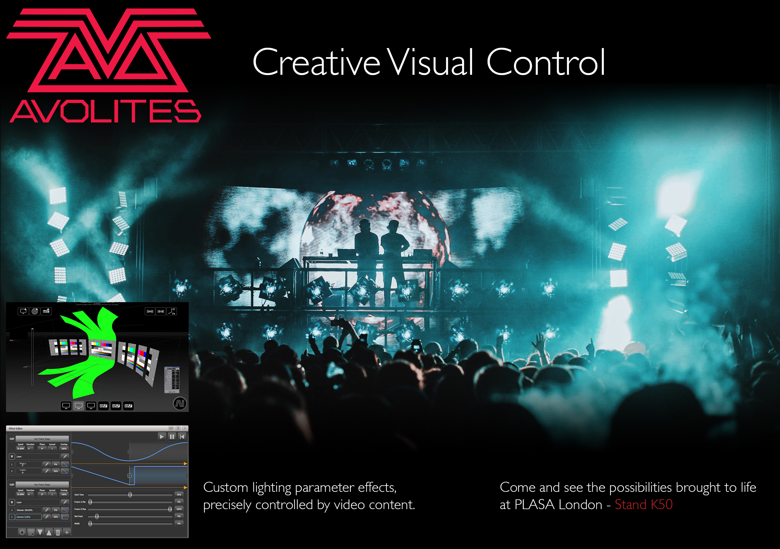 Avolites showcase lighting and video software updates, Titan v10.1 and Ai v10