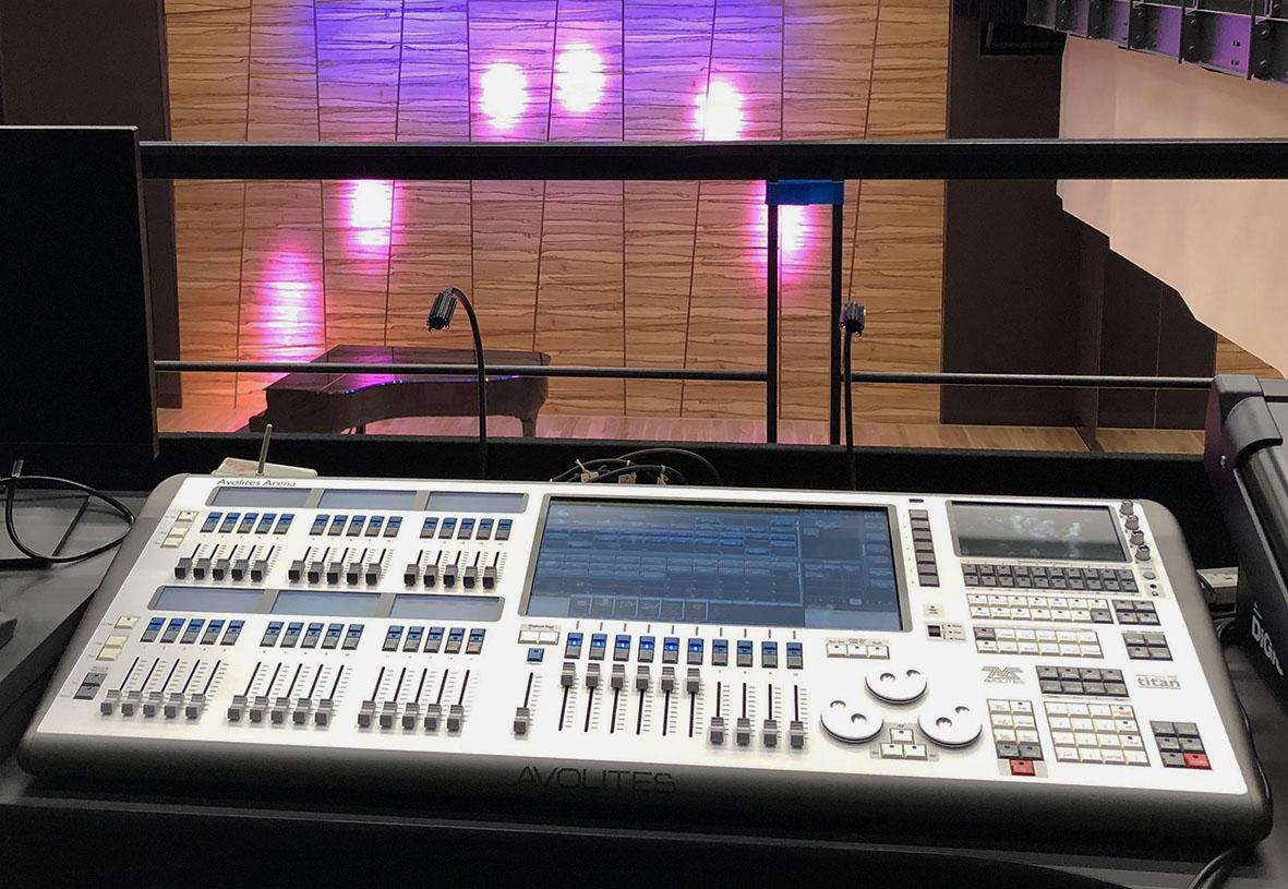 Avolites Arena Lights Up Largest Studio in Tokyo