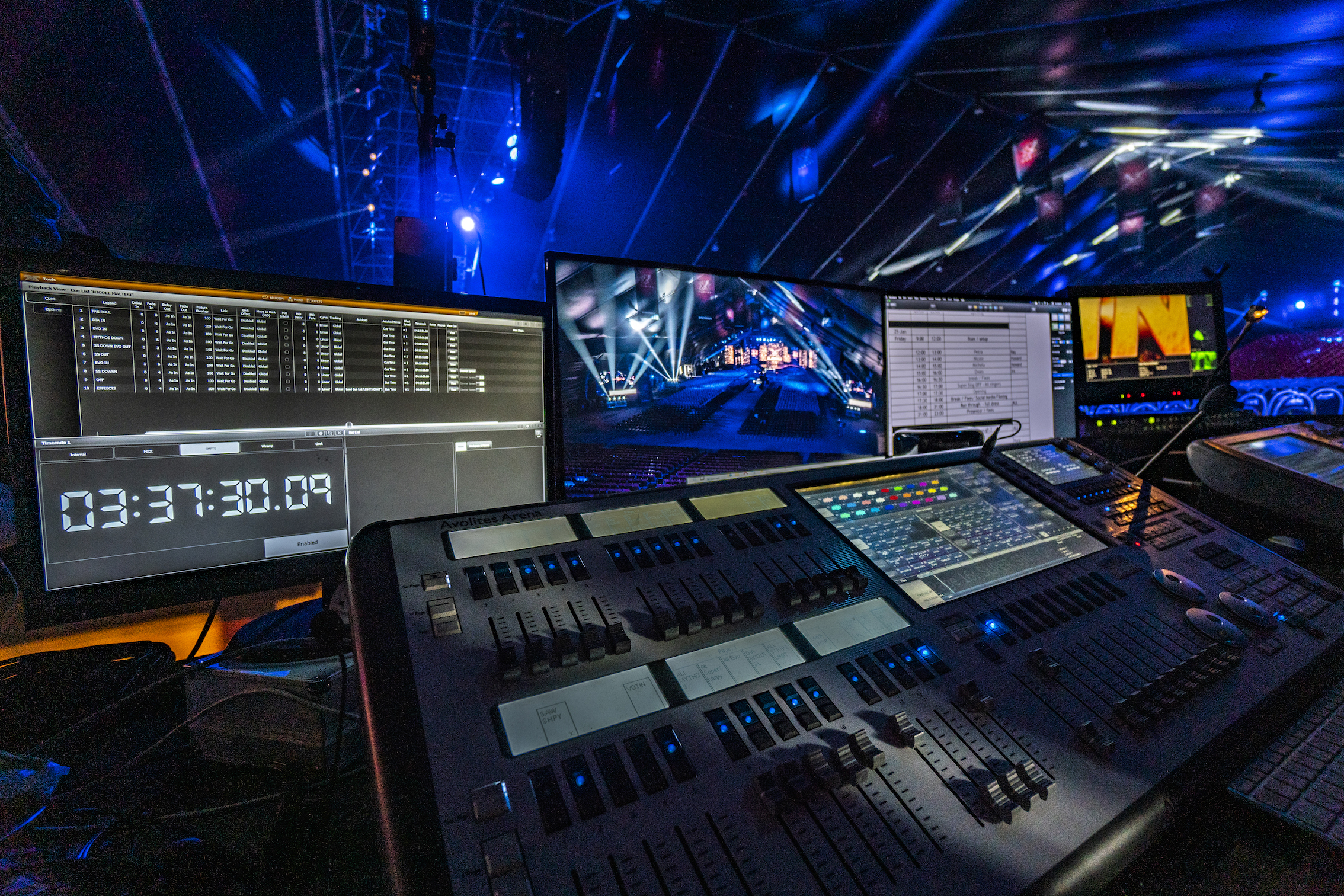 Avolites Arena Excites X Factor Malta Finals