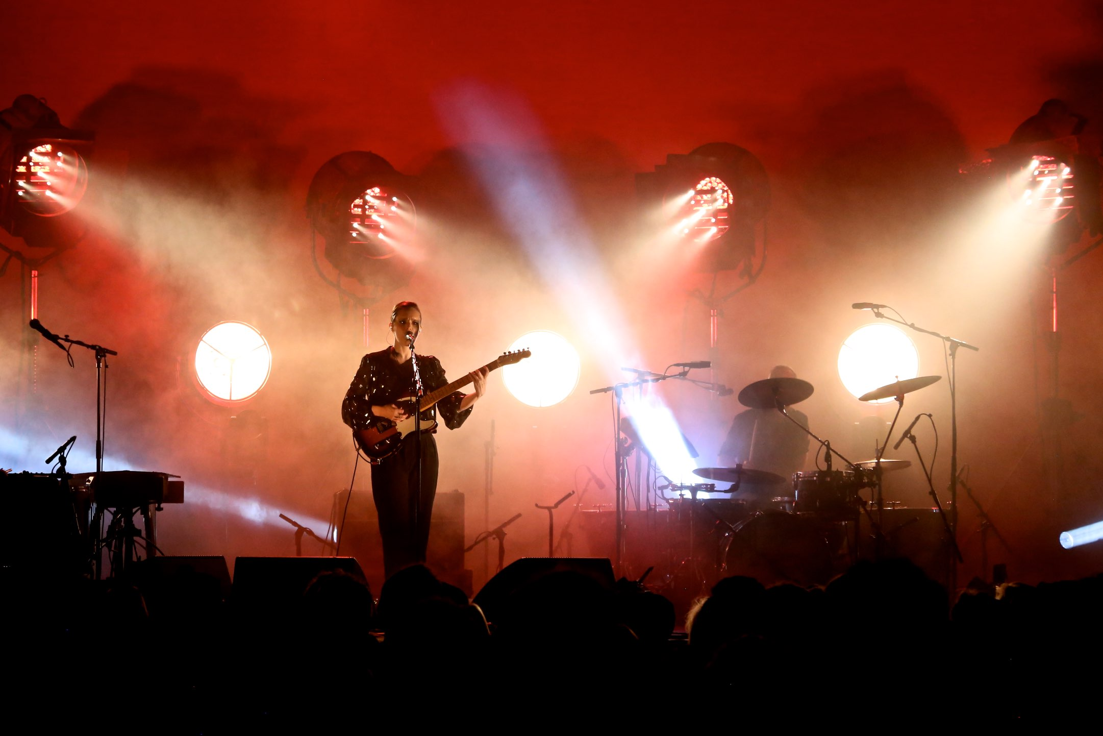 Avolites Tiger Touch II shines at summer festivals for Anna Calvi