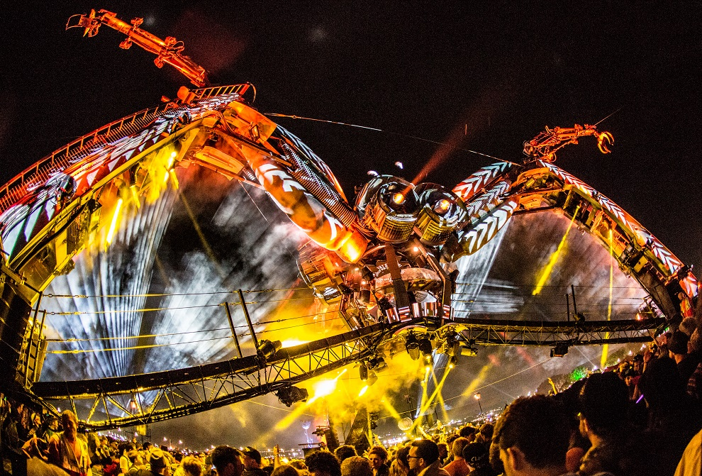 Avolites Ai servers pump up the party for Arcadia at Glastonbury