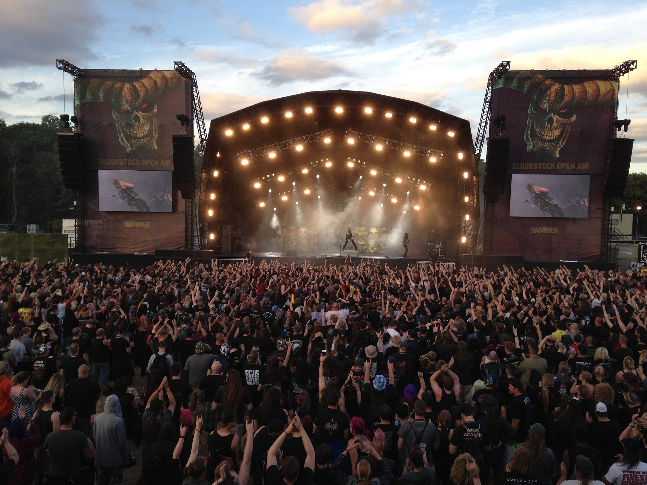 Avolites Titan rocks the party at Bloodstock Festival