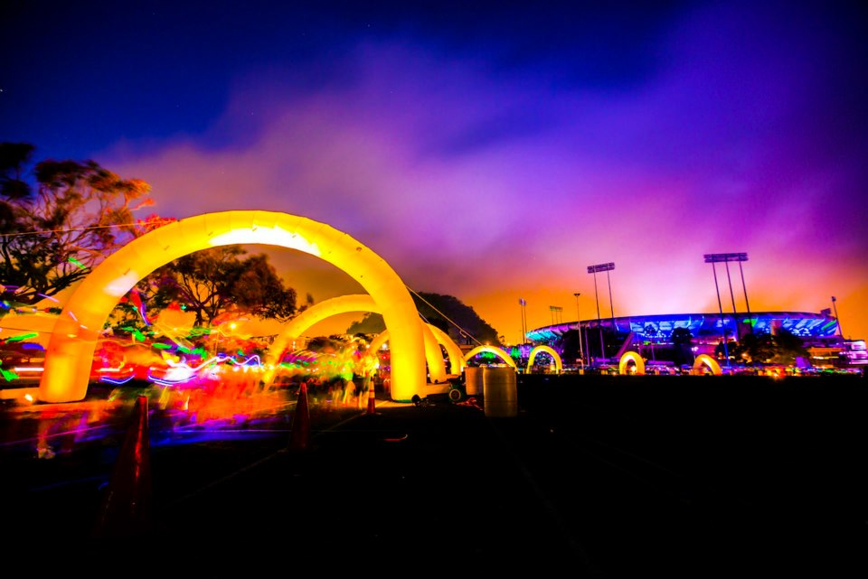 Avolites Titan solutions provide glow for Electric Run London
