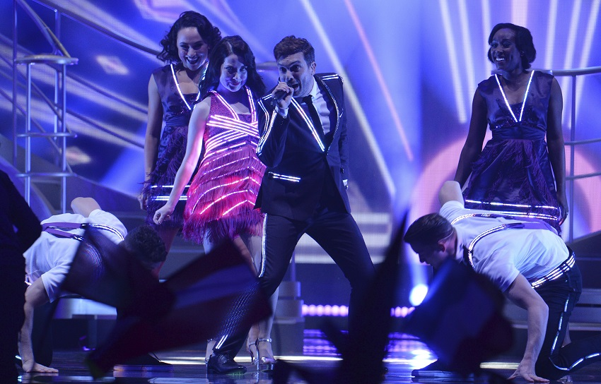 Light Initiative creates the next generation of wearable LED for Eurovision UK entry
