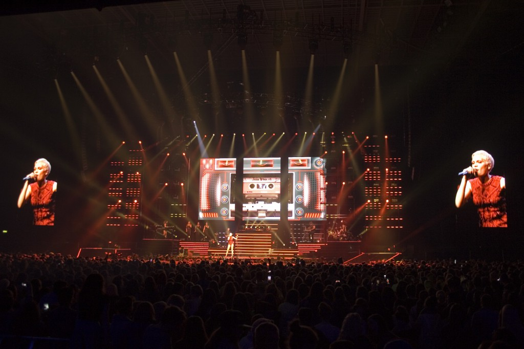 Avolites Media is at the heart of Jessie J's Alive tour