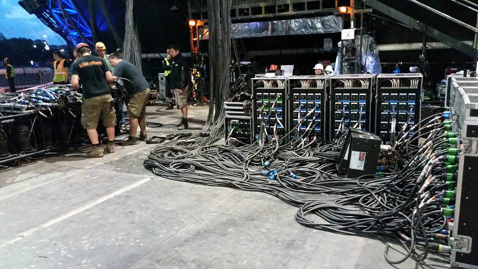 Avolites Art2000 Dimmers Control 792 Par Can Rig For Kanye