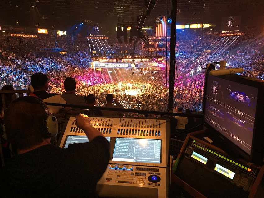Sapphire Touch Delivers a Technical Knockout for Big Mayweather-Pacquiao Fight