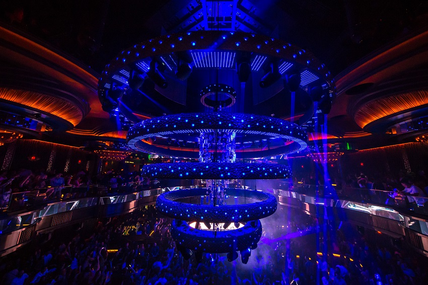 Avolites Sapphire Touch and Ai servers light up new Vegas superclub Omnia
