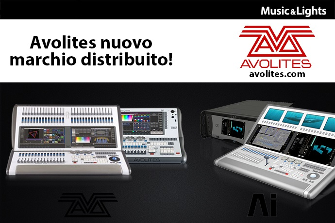 Avolites appoints Music & Lights as new Italian distributor