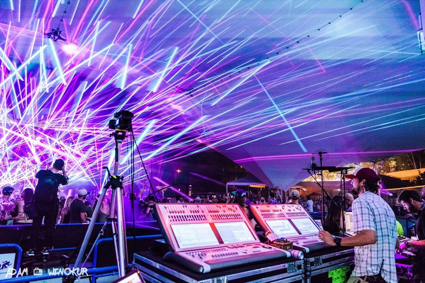 Avolites' Sapphire Touch Lights an Optical Fire for Camp Bisco