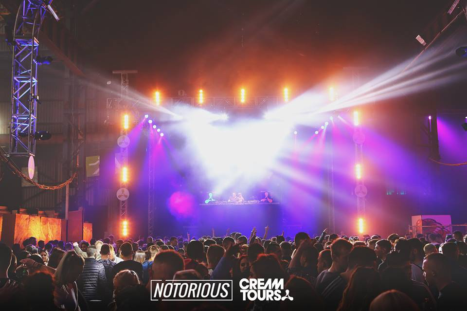 Avolites controls fast-paced rave lighting for Cream Tours at T13 warehouse