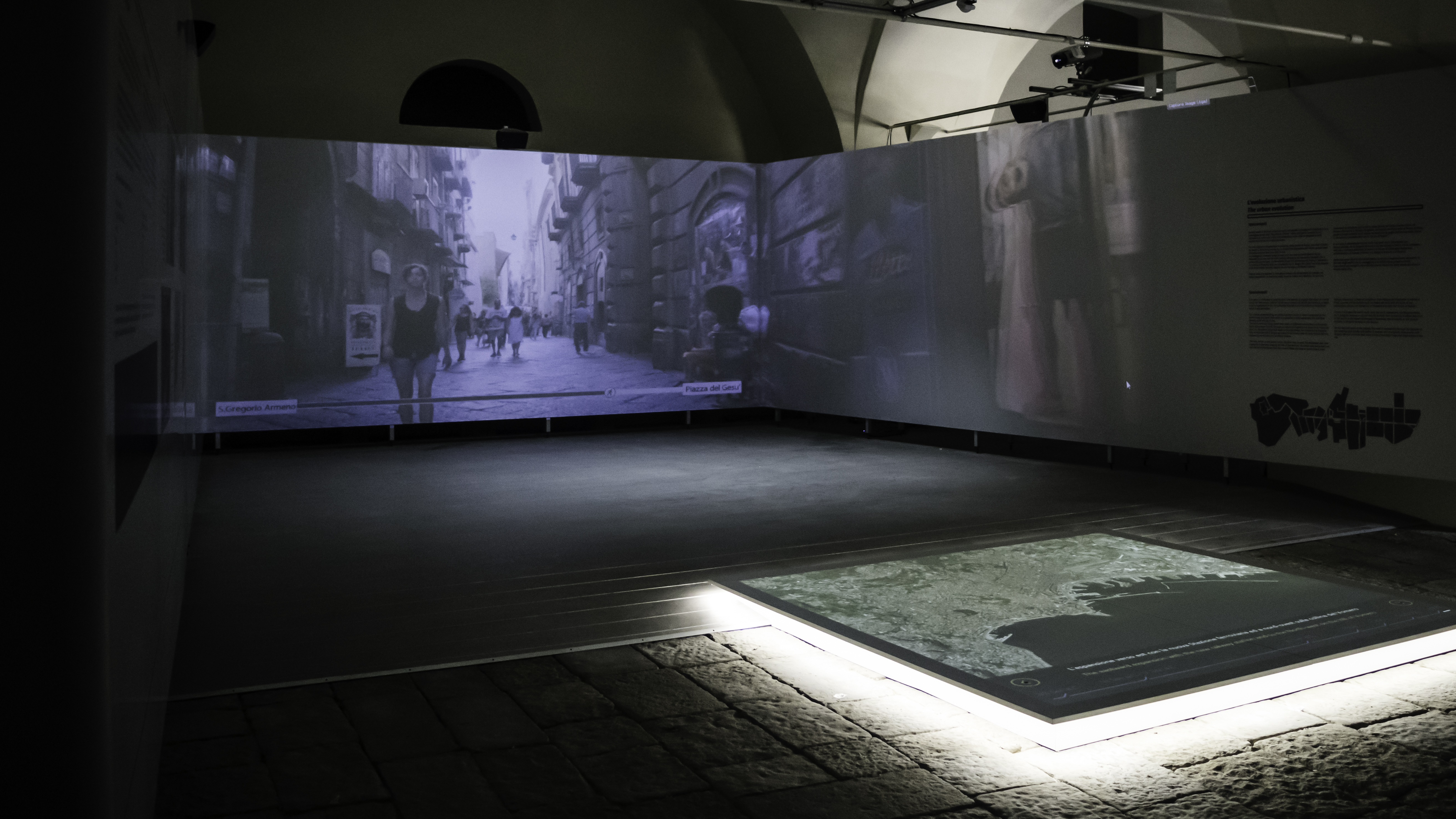 Spaccanapoli Immersive Walk at the Palazzo Reale Museum