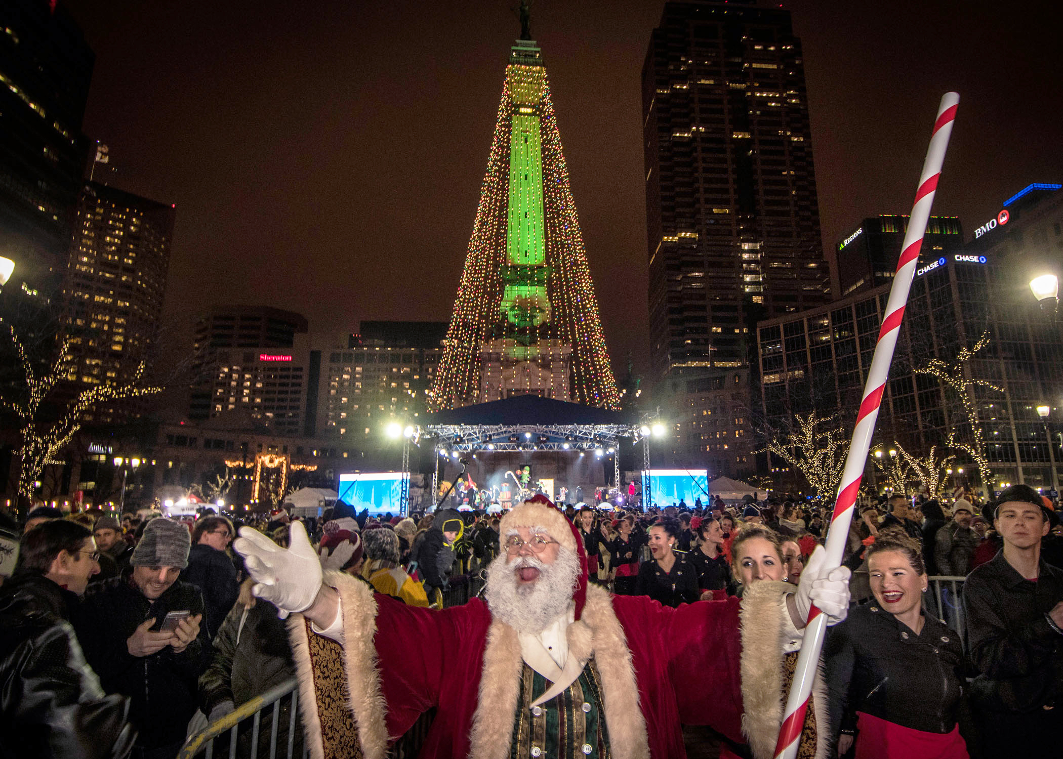Avolites Kindles the Christmas Spirit at Indy's Circle of Lights