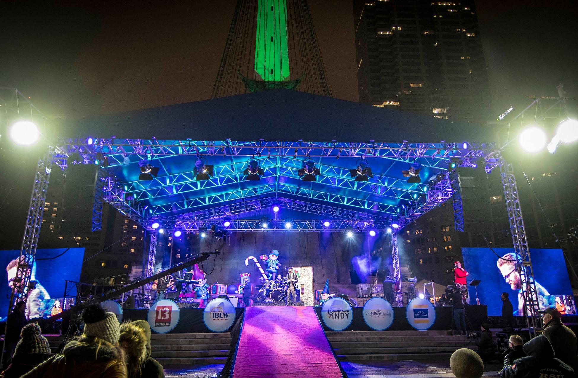 Avolites Kindles the Christmas Spirit at Indy's Circle of Lights