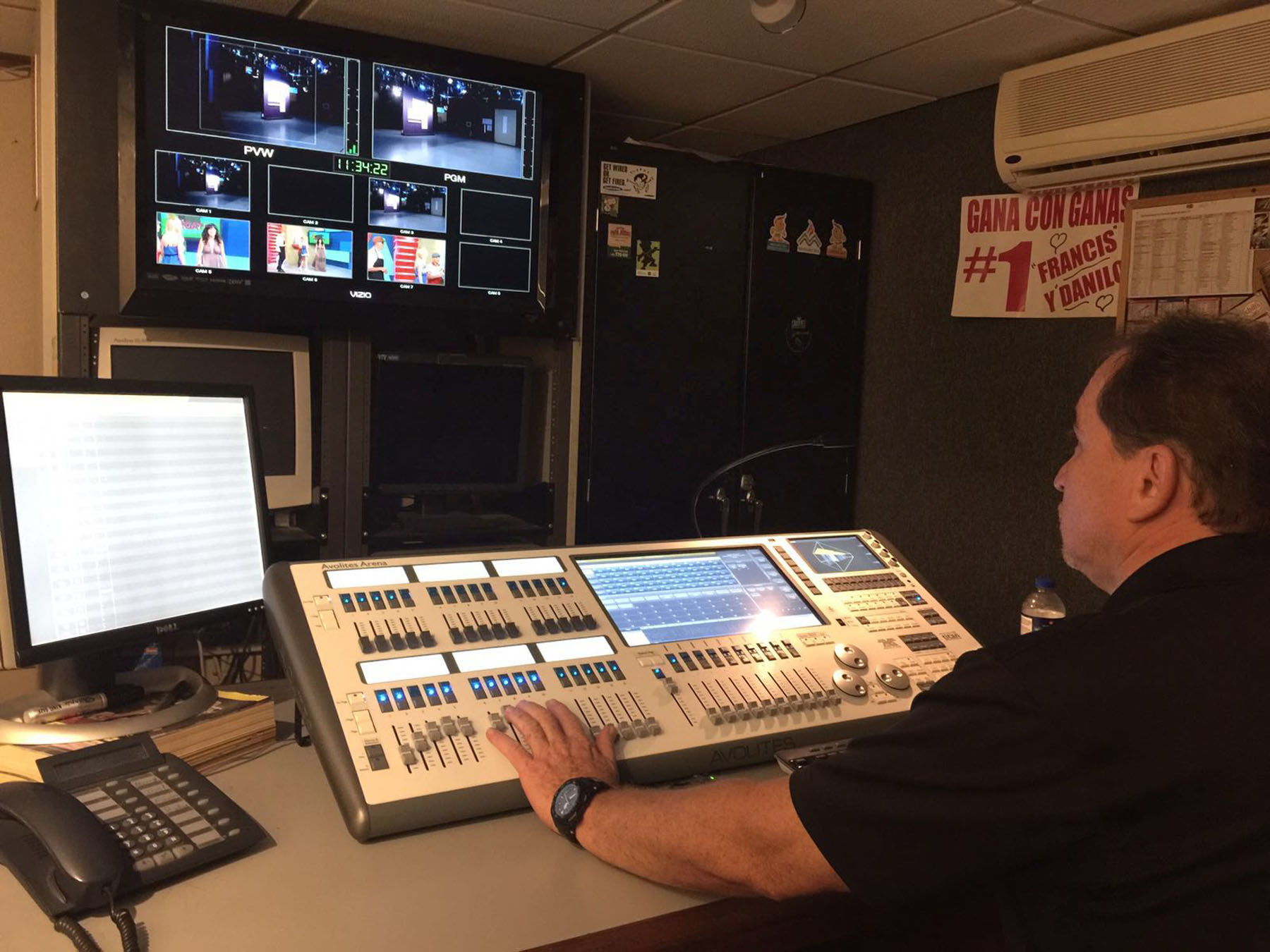 WAPA-TV's Cinema Studio Adds Avolites Arena During Full LED Upgrade