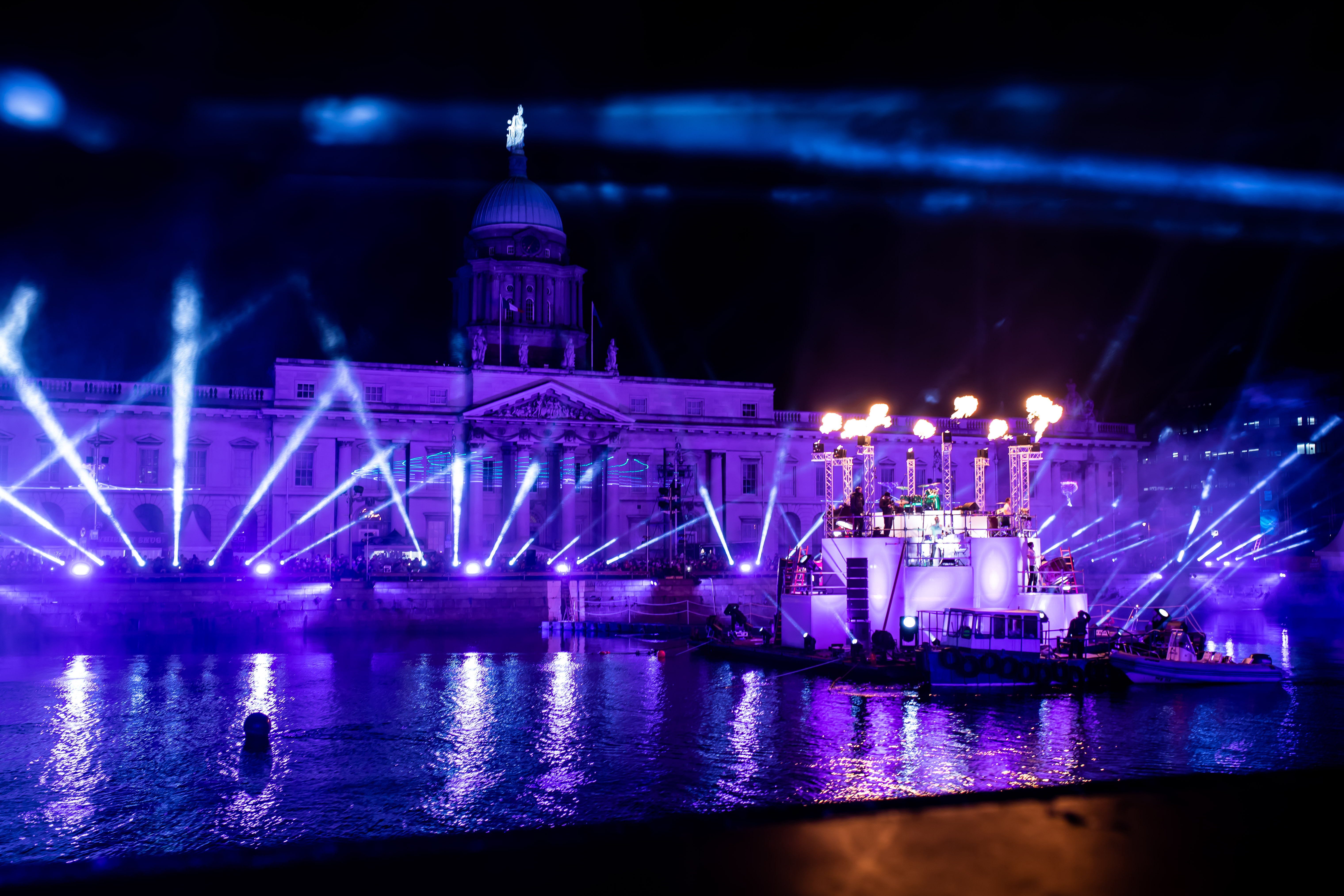 Avolites Tiger Touch II Lights Up Dublin's New Year Festival