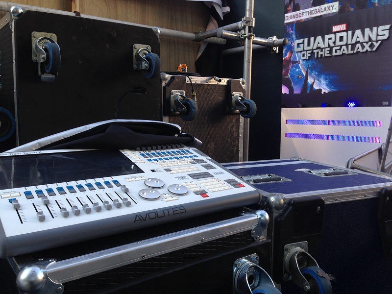 Avolites Pixel Mapper makes stars shine bright at Marvel's Guardians premiere